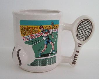 Vintage Tennis Lover Coffee Mug