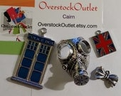 Dr Who Inspired Collection of Gas Mask Large Police box Bow Tie and UK Flag - A1J103