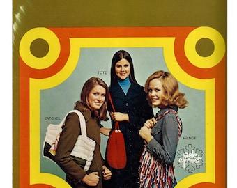 Gypsy Handbags  / Crochet and Knit  Pattern Book / Jack Frost brochure 205