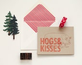 Letterpress Farm Cards : 4 for 12 bucks!