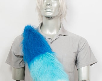 Fluffy Water Fox Set Cosplay, Accessories, Costume