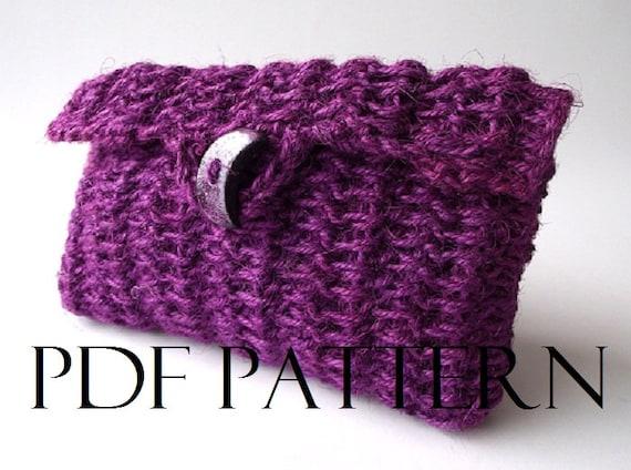 Clutch Bag Crochet Pattern : CROCHET PATTERN BAG Simply Sweet Clutch Bag Summer Crochet Pouch Bag ...