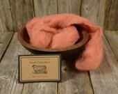 Lily - Needle Felting Wool - Natural Wool Roving -Wet Felting Wool-Nuno Felting-Spinning