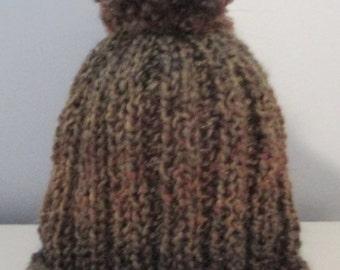 Multi Brown Hat