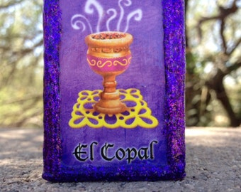 Loteria Day of the Dead Matchbox, El Copal (Incense) and La Velada (Soiree)