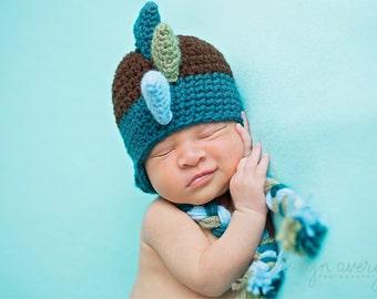 Newborn dinosaur hat dragon hat
