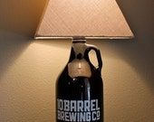 Beer GROWLER Lamp - 10 Barrel Brewing Co. - Ready to ship!