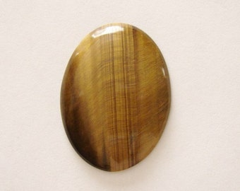 Natural  Tiger  Eye  Oval Cabochon 40 x 30 mm