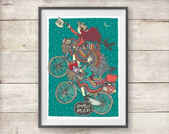 The Night Circus Isobel Print