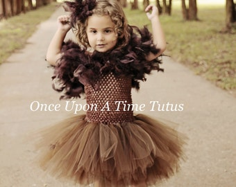 owl inspired tutu dress girls size newborn 3 6 9 12 18 month 2t 3t