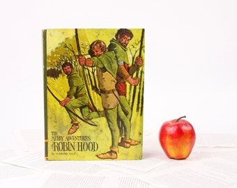 Book iPad Cover- Tablet Case made from a Book- Robin Hood