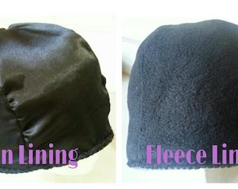 Fleece or Satin Lining