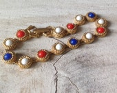 LJM Red White and Blue Bicentennial Bracelet