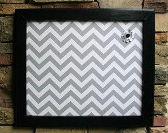 "18""x22"" Black Frame with Fabric Cork Board"