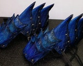 Leather Armor Dragon Scale Gauntlets