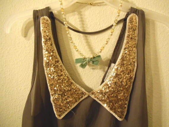 Mint Green Necklace--SALE