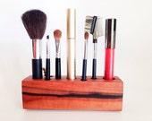 Makeup Organizer Tineo Wood 5th Anniversary Gift