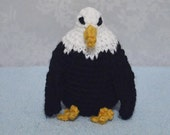 Sale - Bald Eagle, Crochet Amigurumi