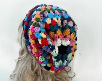 Crochet Slouchy Hat Crochet Hat Slouchy Beanie Slouch Beanie Crochet slouchy Beanie Womens Hat Womens Slouch Beanie Winter Hat Accessories