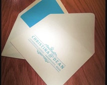 Custom Printed Envelopes. Envelope Liners. Wedding Envelope. Birthday Envelope. Special Occassion.