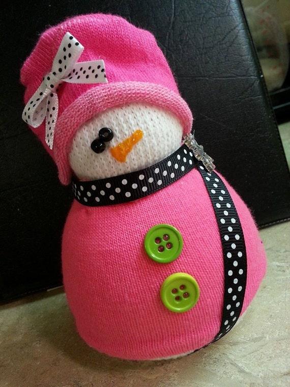 riz chaussette bonhommes de neige par creativeelementsart sur etsy. Black Bedroom Furniture Sets. Home Design Ideas