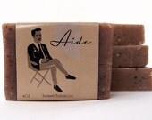 Sweet Tobacco Soap, Gifts For Him, Soap for Men, Handmade Soap, Vegan Soap, Cold Process Soap, Mens soap, Exfoliating Mens Soap