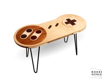 16-bit Retro Gaming Occasional Table - Maple