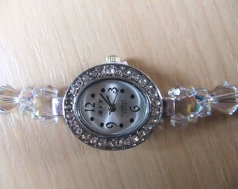 Ladies Swarovski crystal watch