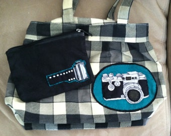 Custom Camera Purse and Small Film Pouch