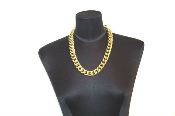 Gold Chain Necklace // Versace Inspired // Men's by ...