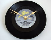 """Reo Speedwagon Clock Vinyl Record Clock Pick Your Favourite Song Recycled 7"""" single 80s Retro recycled Rock Pop gift for mum dad boyfriend"""