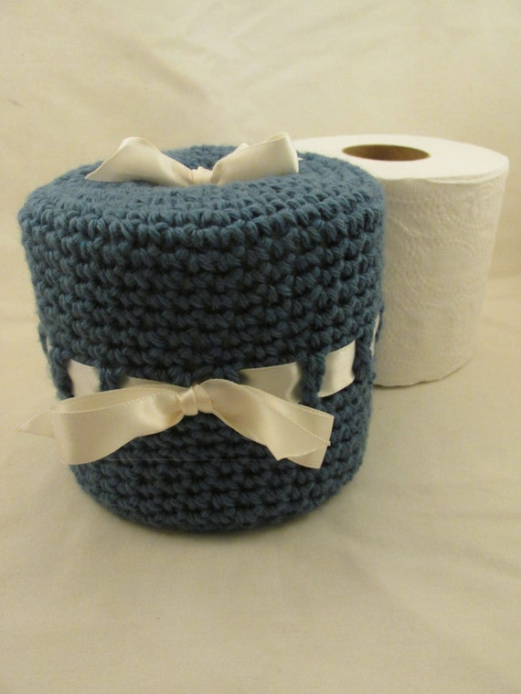 Toilet Paper Roll Cover By Bettysblock On Etsy