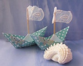 paper sail boat center piece cake topper sail boat just the two of us you and me white lace