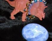 CELESTITE Celestine polished gemstone calming sky blue crystal