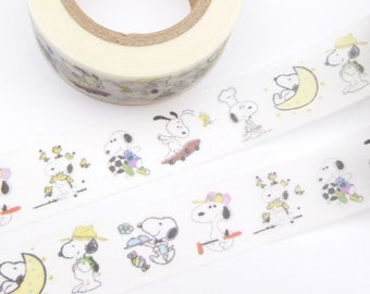 Colorful Snoopy  Washi Tape - U1234