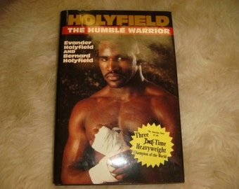 Vintage Holyfield The Humble Warrior Book Autographed Copy Signed by Evander Boxing