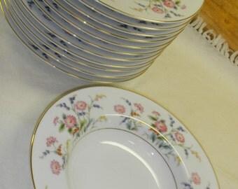 Noritaki Veronica 1949  soup or salad bowls 12