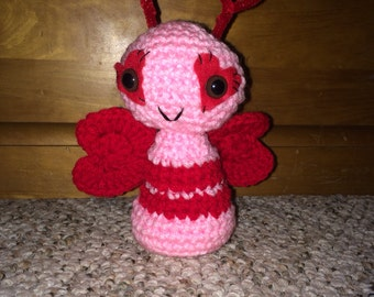 Crocheted Love Bug