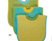 Pullover Baby to Toddler Bibs -- Set of Three -- Set 9
