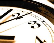Clock Counted Cross Stitch Pattern Chart PDF Download by Stitching Addiction