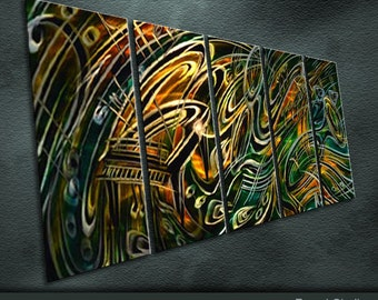 """Medern Original Metal Wall Art Special Abstract Painting Sculpture Indoor Outdoor Decor """"Concerto series"""" by Ning"""