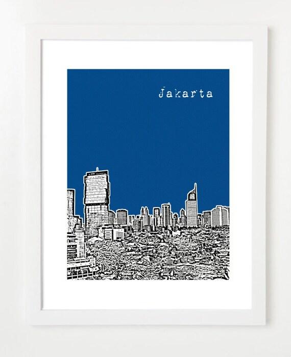 Indonesia Printing Jakarta Jakarta Indonesia City Art