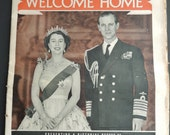 1954 DAILY  MAIL The Royal Tour of the Commonwealth 64 pages souvenir