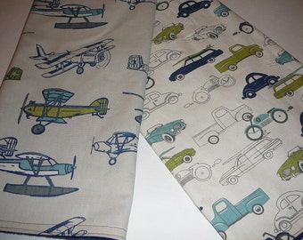 Vintage Airplanes or Cars Blanket