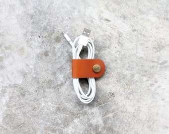 Leather Cable Band - Hand Crafted Leather Custom