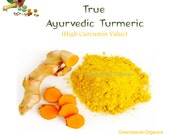 Turmeric Powder 28oz Ayurvedic Grade High in Curcumin Value (100% Certified Indian Haldi)