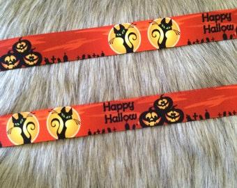 "1"" Grosgrain Halloween Ribbon"