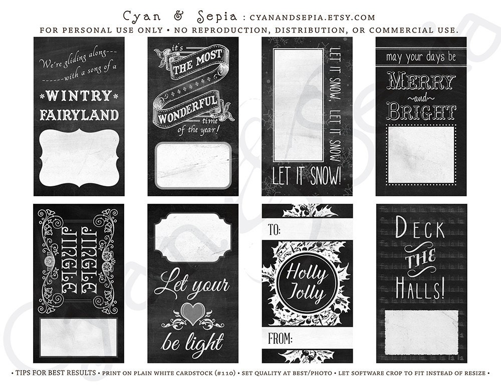 This is an image of Luscious Printable Christmas Labels Pdf