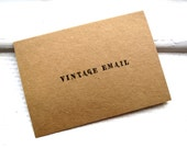 VINTAGE EMAIL Greeting Card - Funny Card For Any Occasion