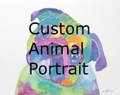 Custom Animal Portrait for Jenni